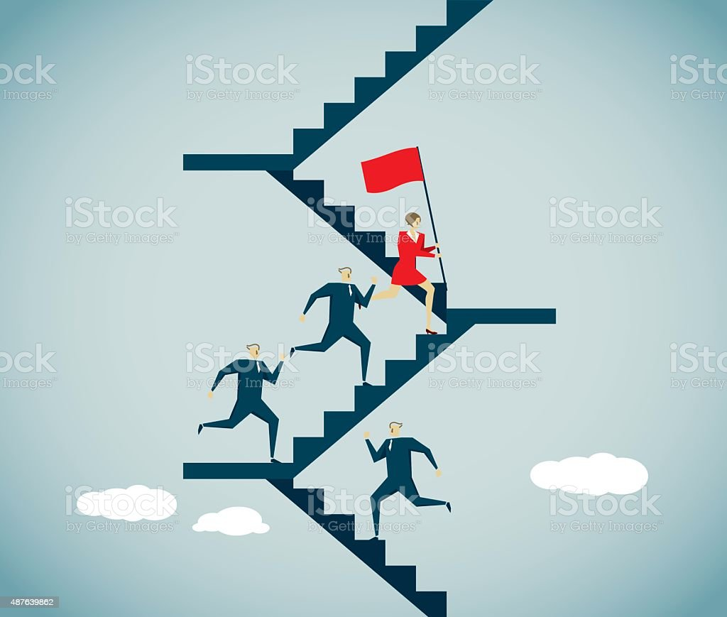 Ladder vector art illustration