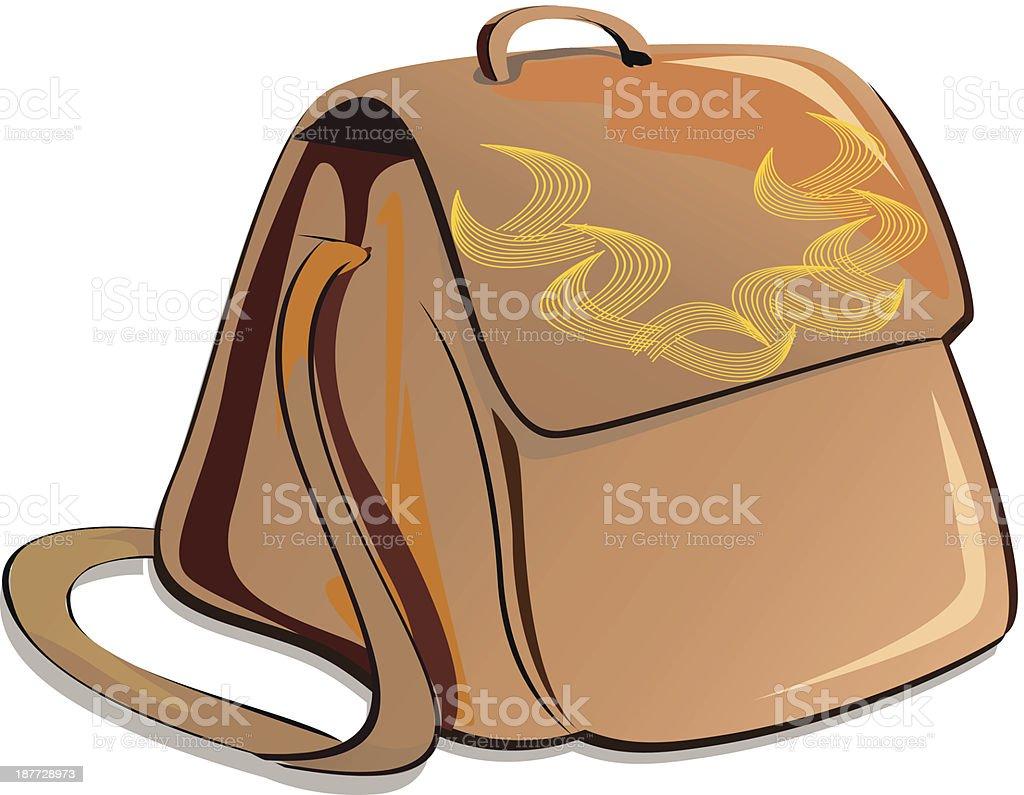 Ladies bag royalty-free stock vector art