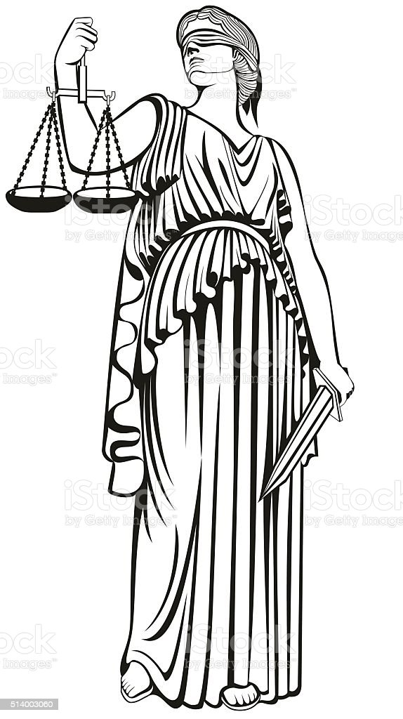 Themis Goddess Of Justice Clip Art Cliparts