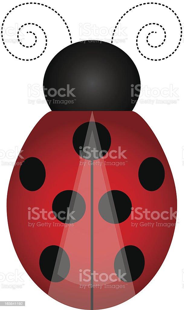 Ladybird royalty-free stock vector art