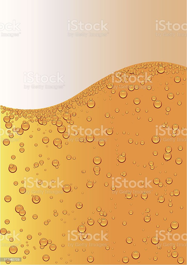 lager beer vector art illustration