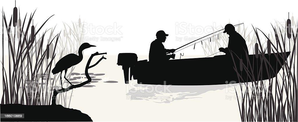 LakeTrout vector art illustration