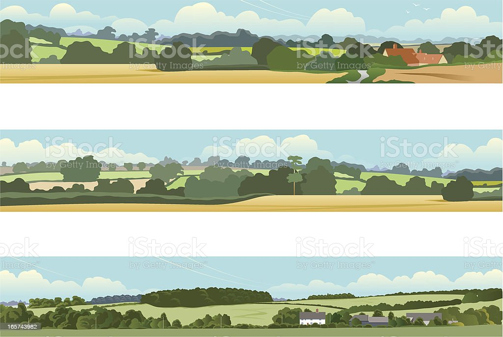 Landscape banners royalty-free stock vector art