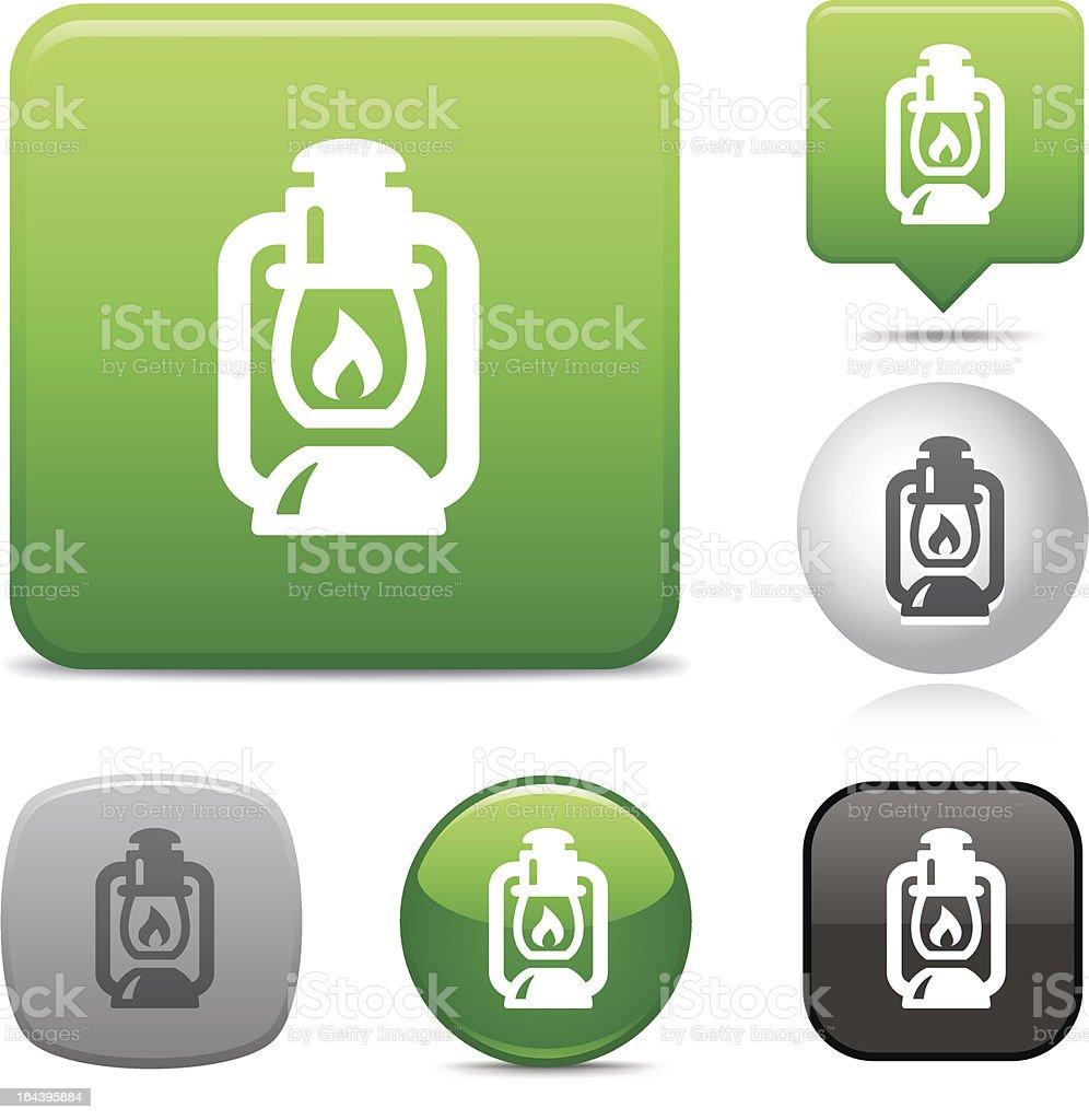 Lantern icon royalty-free stock vector art