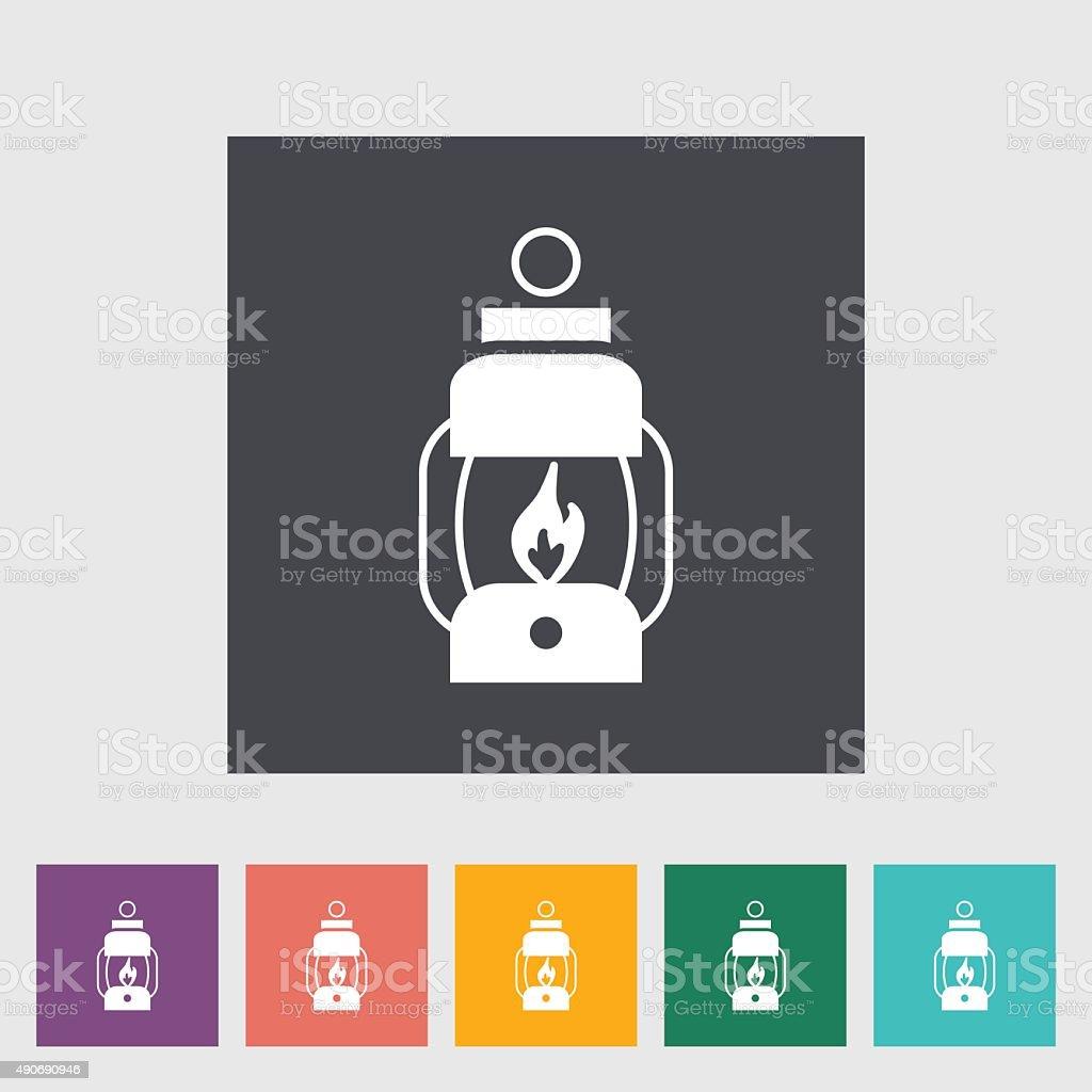 Lantern icon vector art illustration