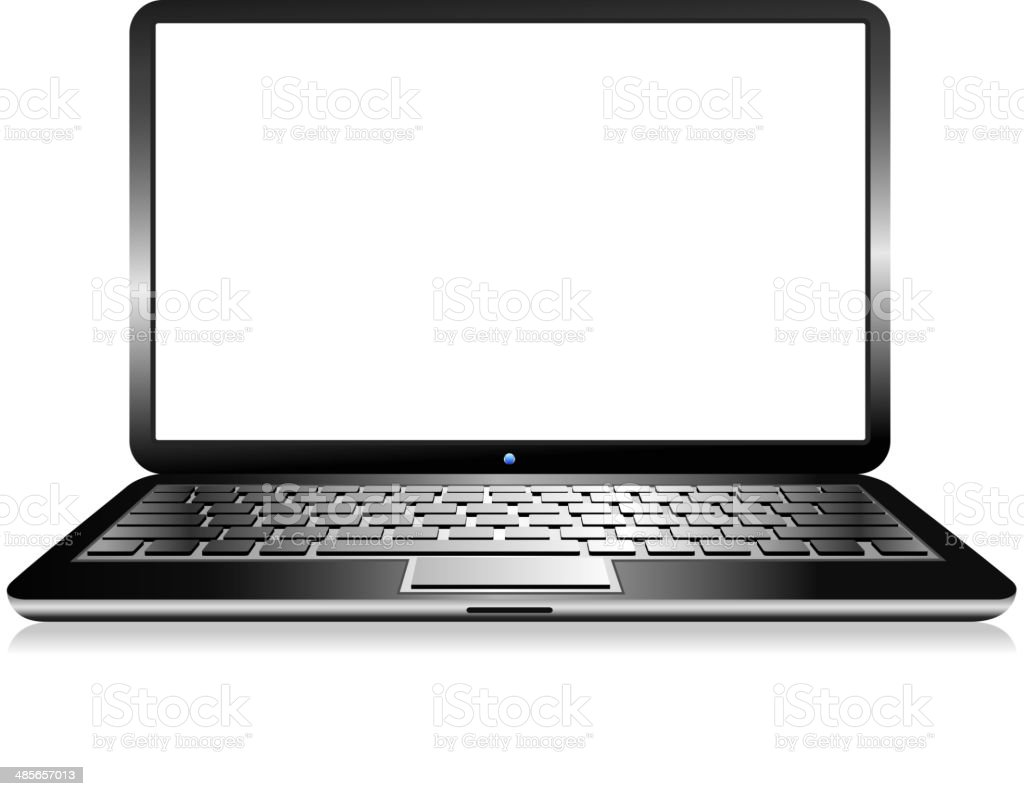 Laptop Computer royalty-free stock vector art