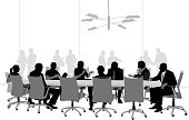 Large Boardroom Business Meeting