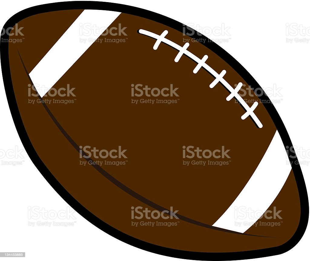 Brown Football Clipart - clipartsgram.com
