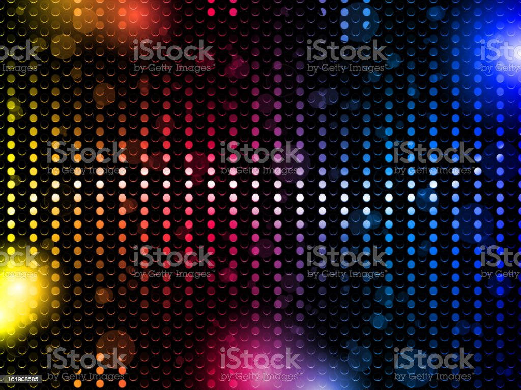 Laser Neon Colorful Lights royalty-free stock vector art
