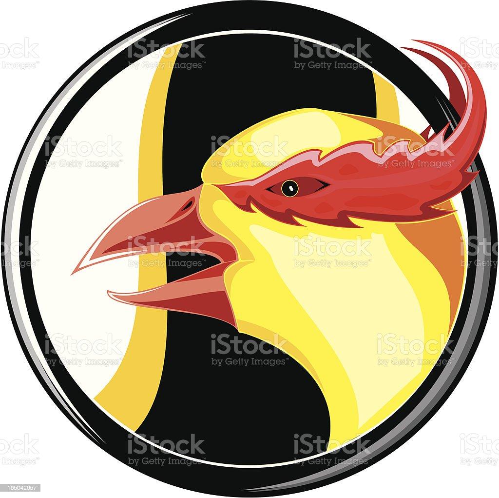 Last Phoenix royalty-free stock vector art