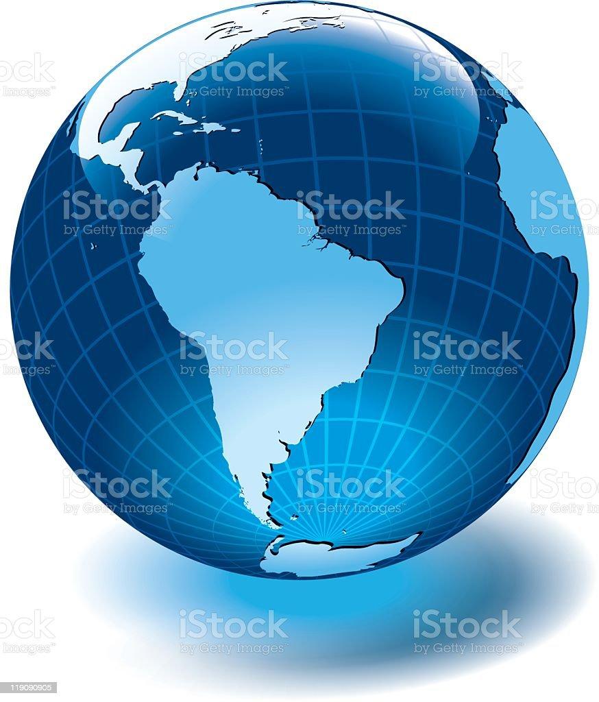 Latin America royalty-free stock vector art