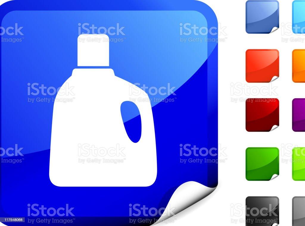 Laundry detergent internet royalty free vector art vector art illustration