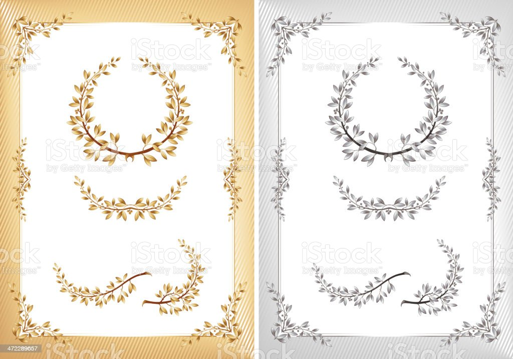 laurel royalty-free stock vector art