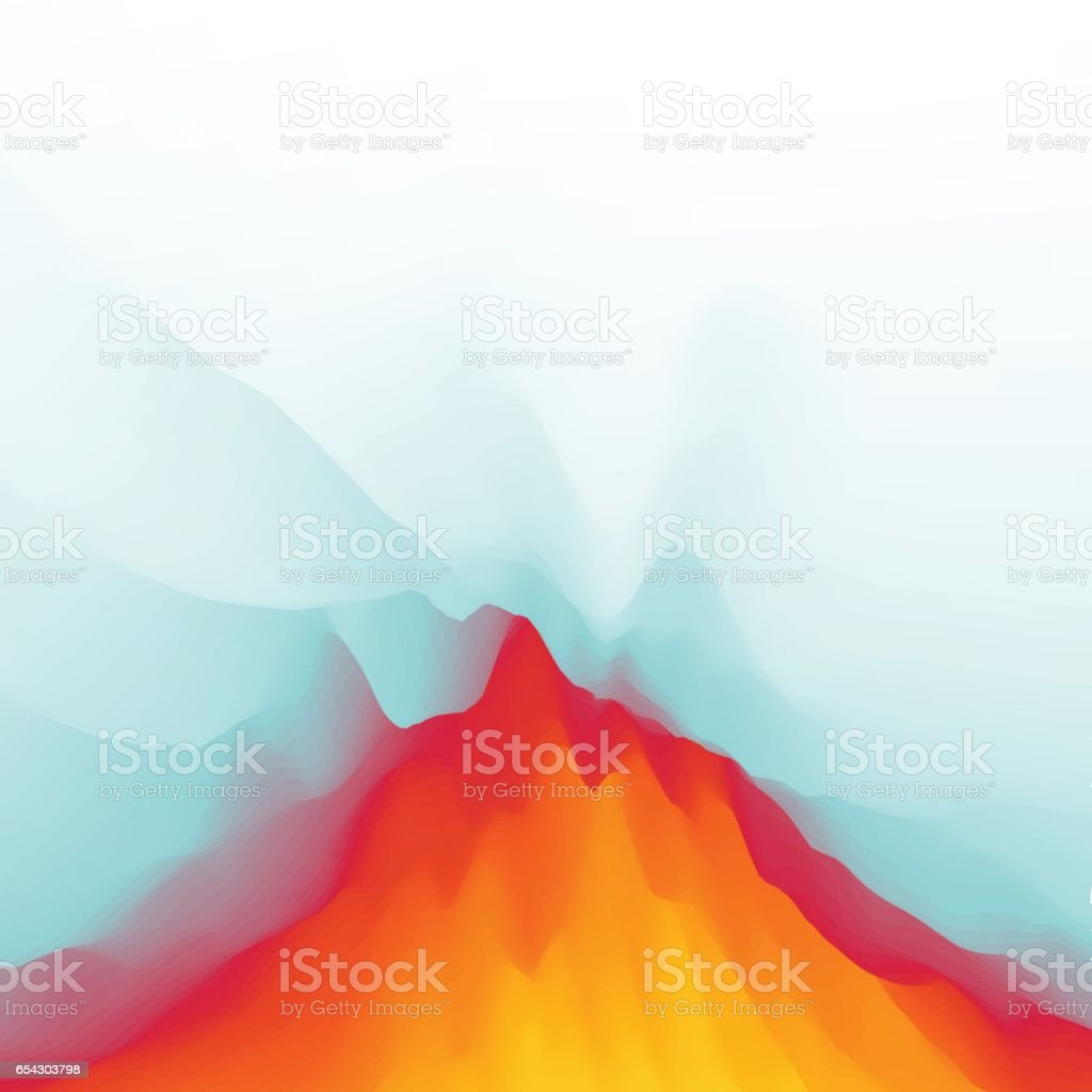 Lava. Abstract background. Modern pattern. Vector Illustration vector art illustration