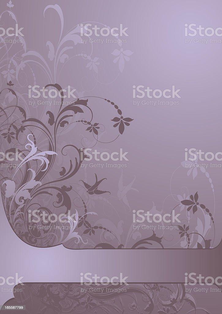 Lavendar Twilight royalty-free stock vector art