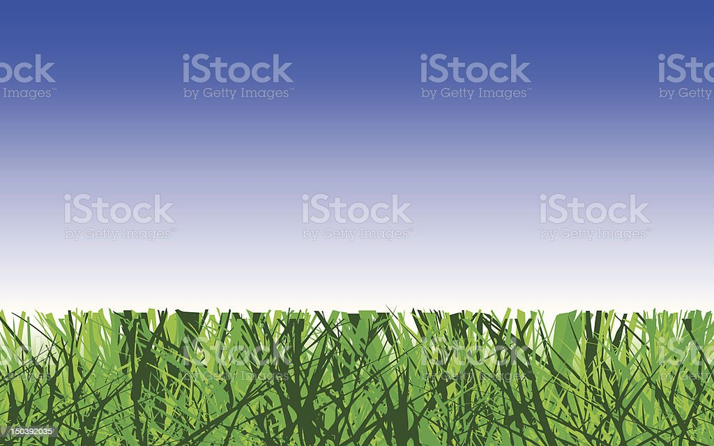 Lawn royalty-free stock vector art