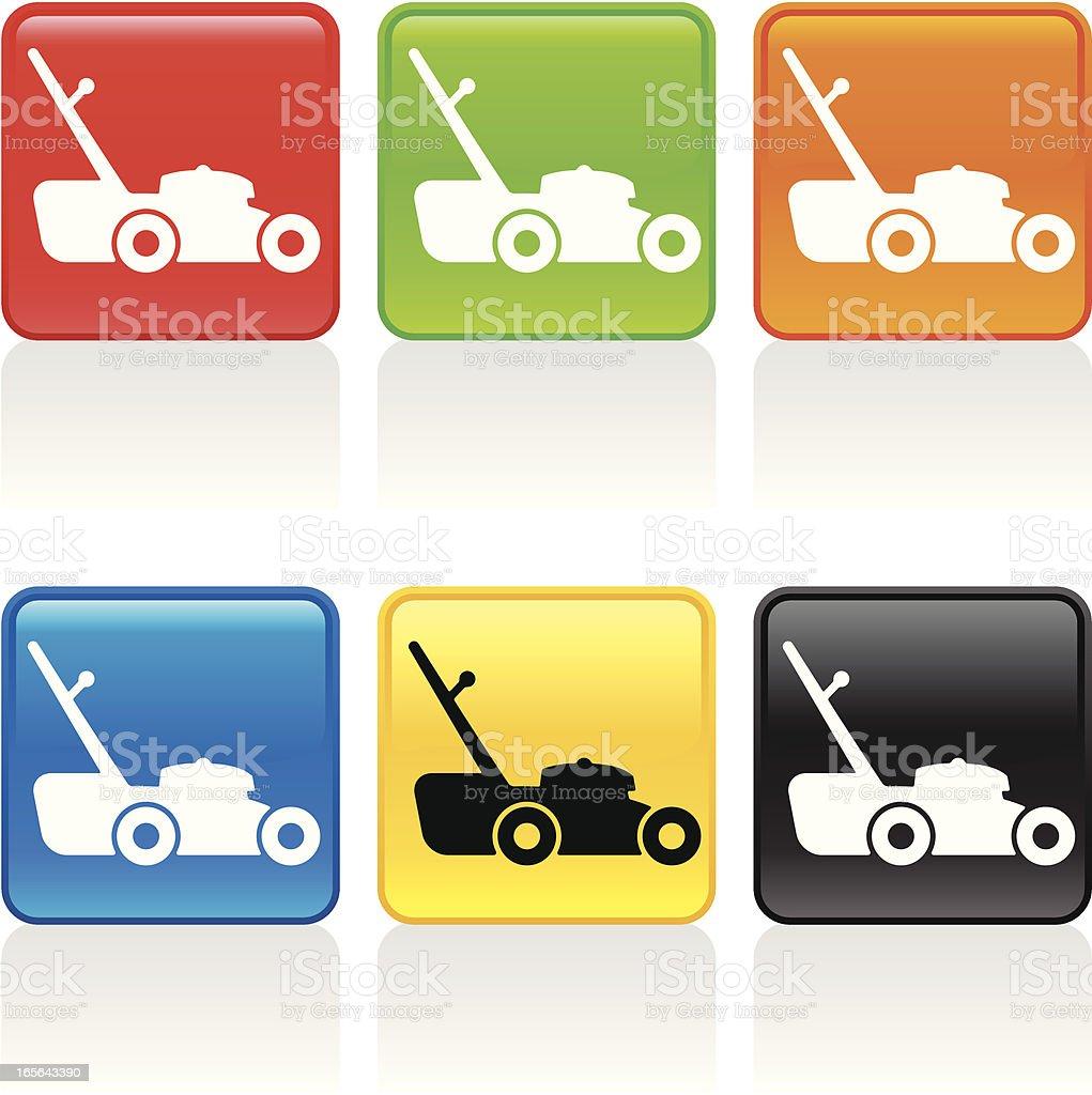 Lawnmower Icon royalty-free stock vector art