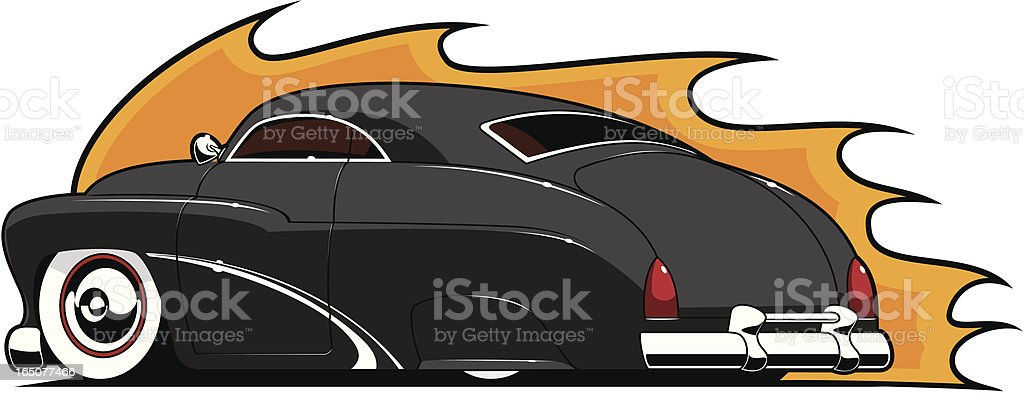 Lead Sled vector art illustration