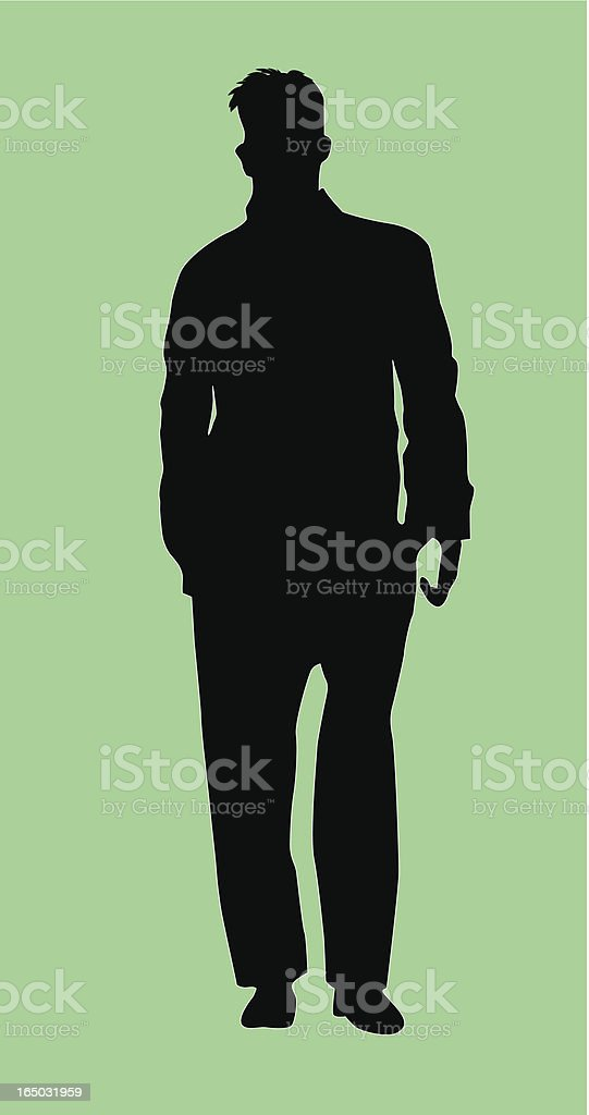 Leader Businessman  (Vector) royalty-free stock vector art