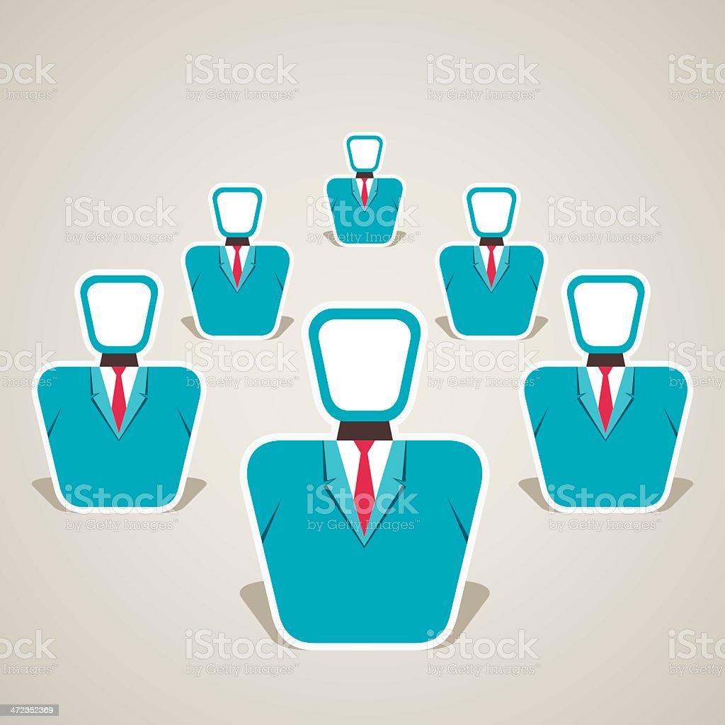 leadership concept royalty-free stock vector art