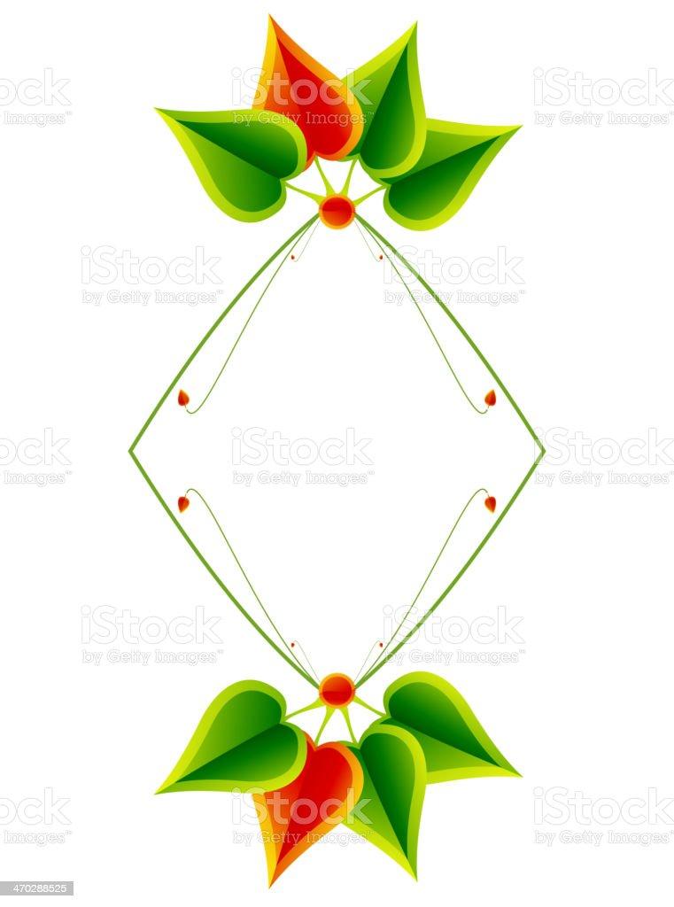 Leaf abstratc background vector art illustration