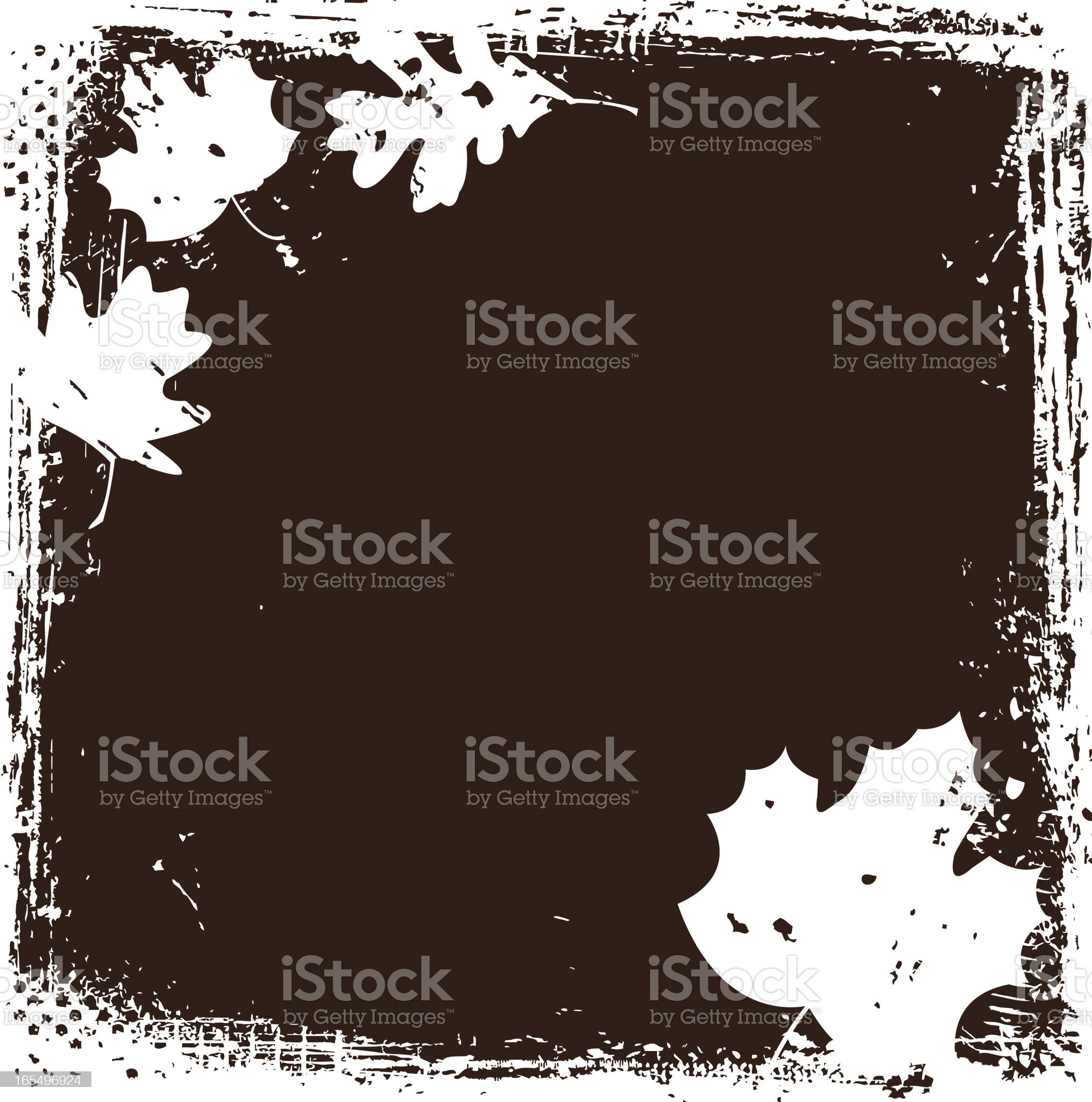Leaf Background royalty-free stock vector art