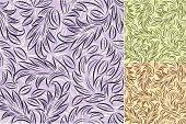 Leaf patterns .