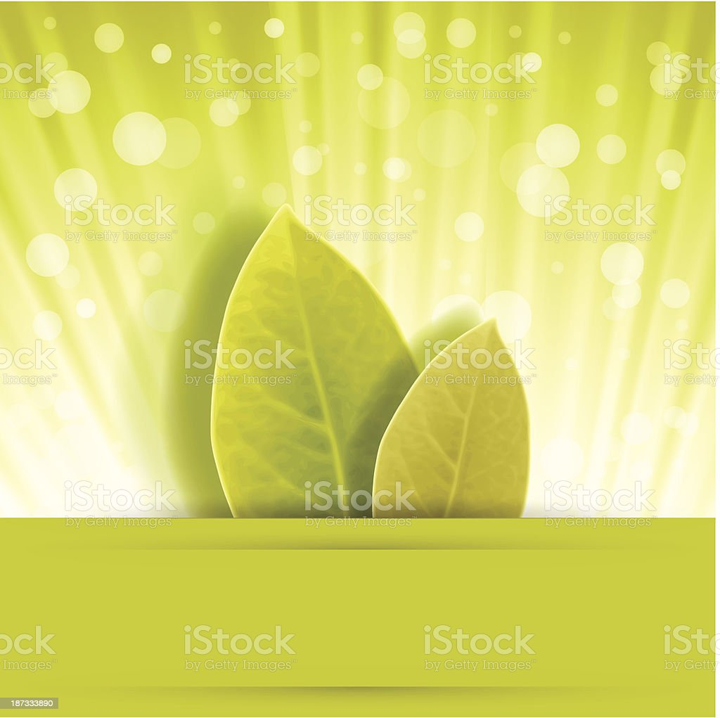 leaf rust in cute background royalty-free stock vector art