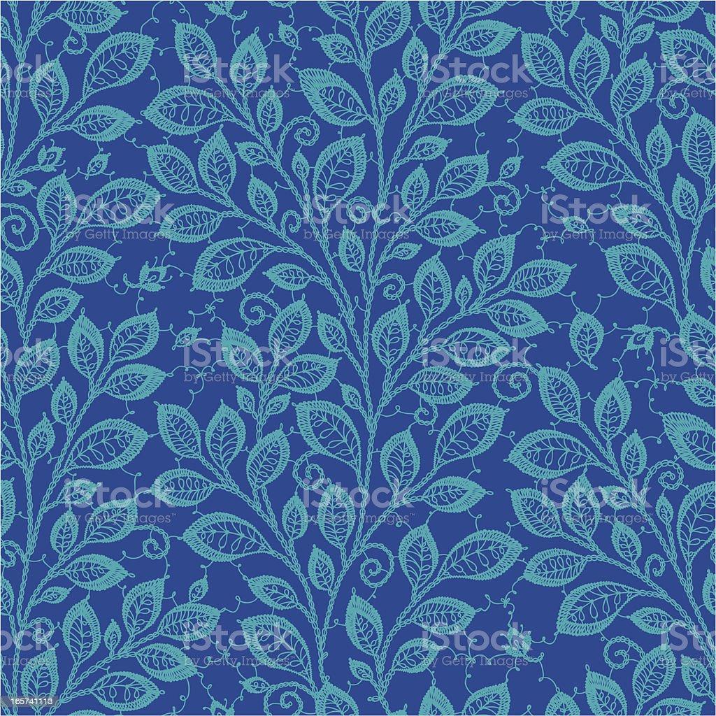 Leaf Seamless Pattern. royalty-free stock vector art