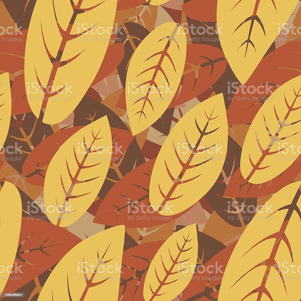 leafs vector art illustration