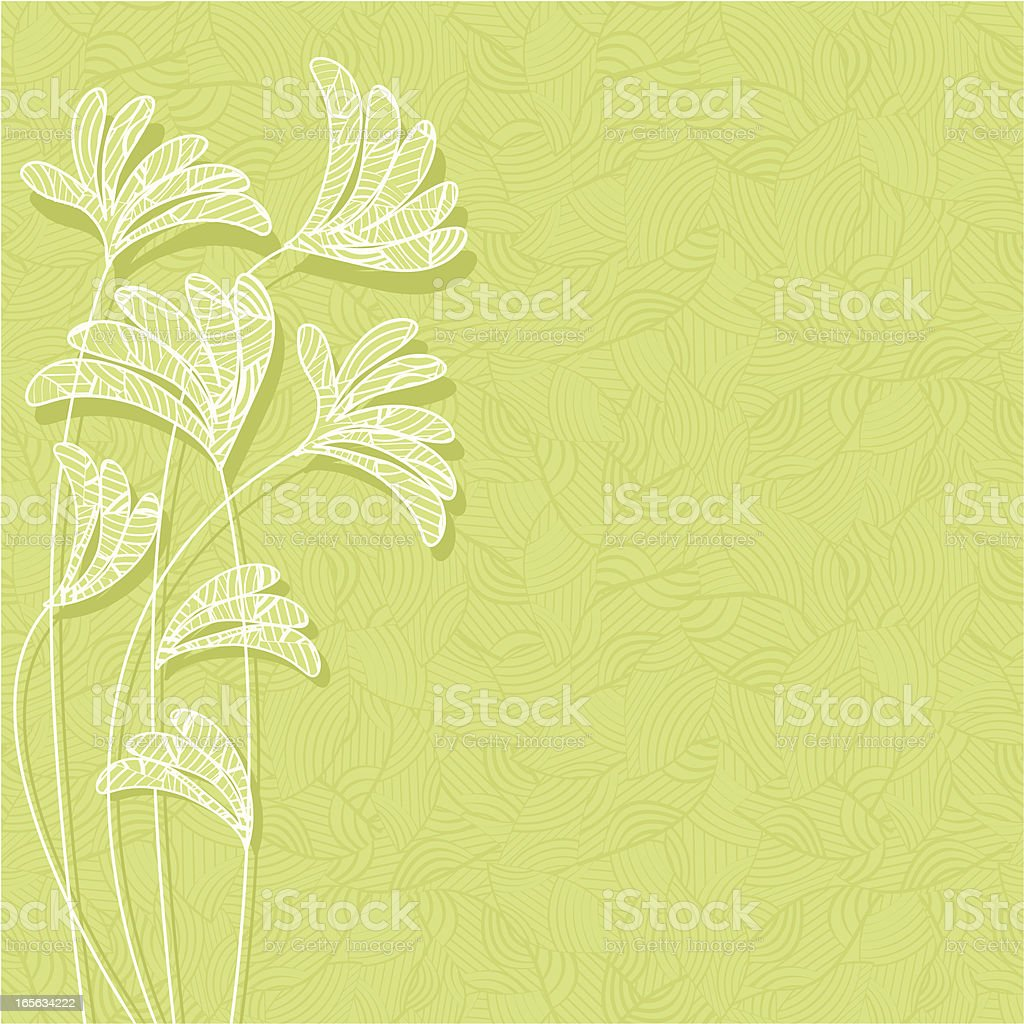 Leafy background . royalty-free stock vector art