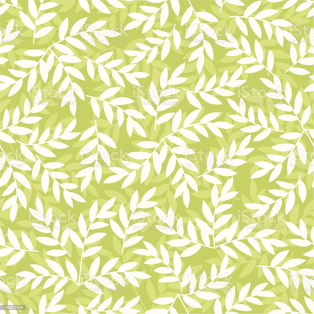 Leafy pattern . royalty-free stock vector art