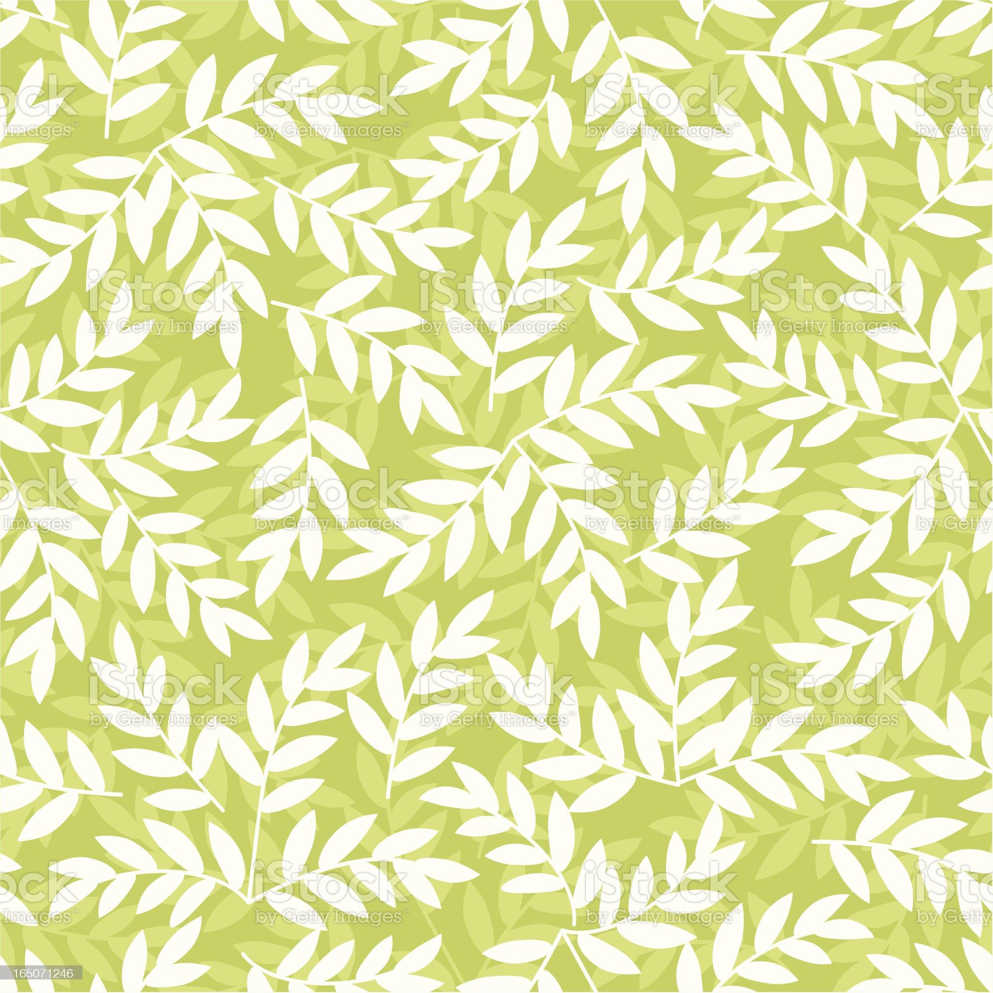 Leafy pattern . royalty-free stock vector art
