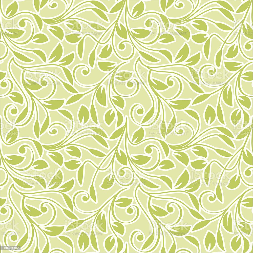 Leafy pattern royalty-free stock vector art