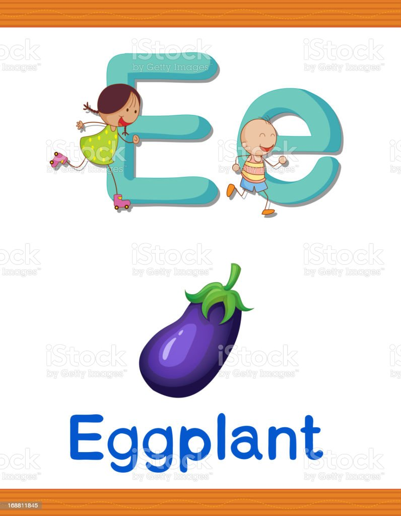 Learn alphabet worksheet royalty-free stock vector art