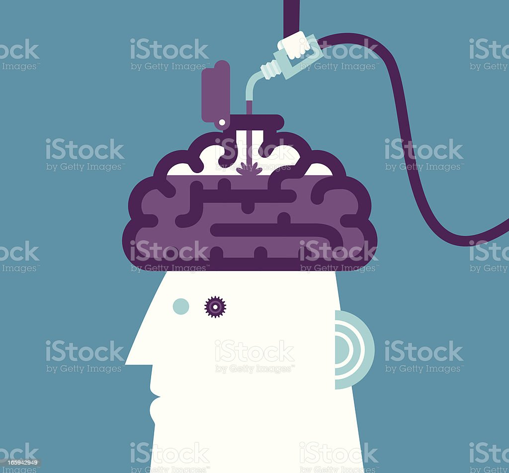 Learning Concept royalty-free stock vector art