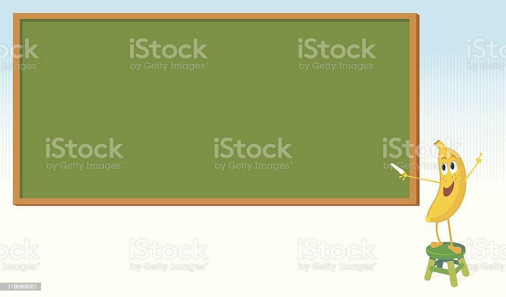Learning From the Fruits royalty-free stock vector art