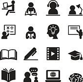 Learning icons set