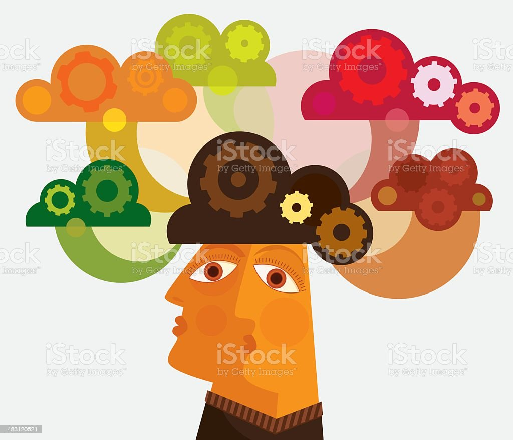 Learning royalty-free stock vector art
