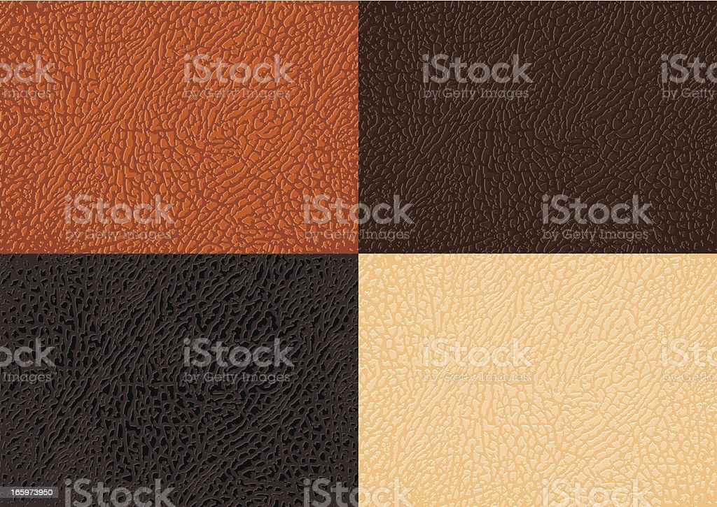 Leather Background vector art illustration