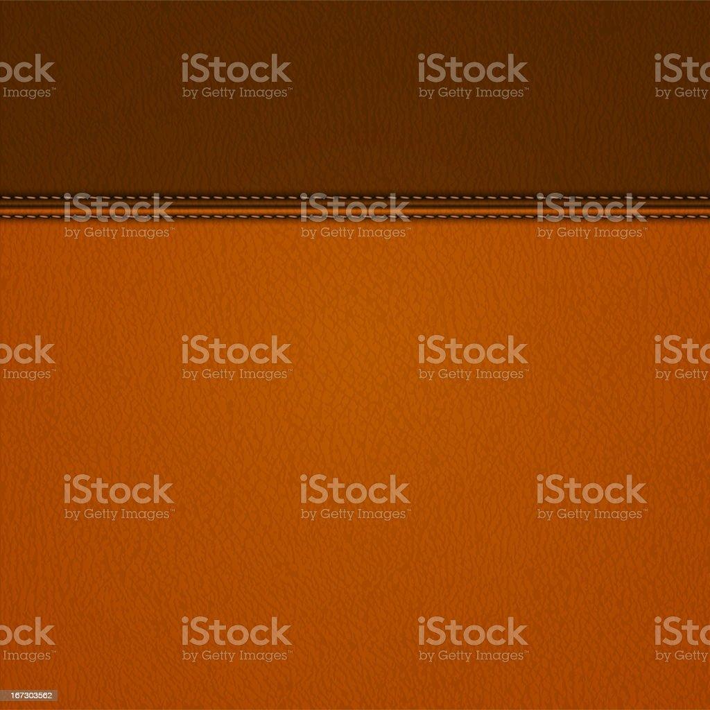 Leather background vector art illustration