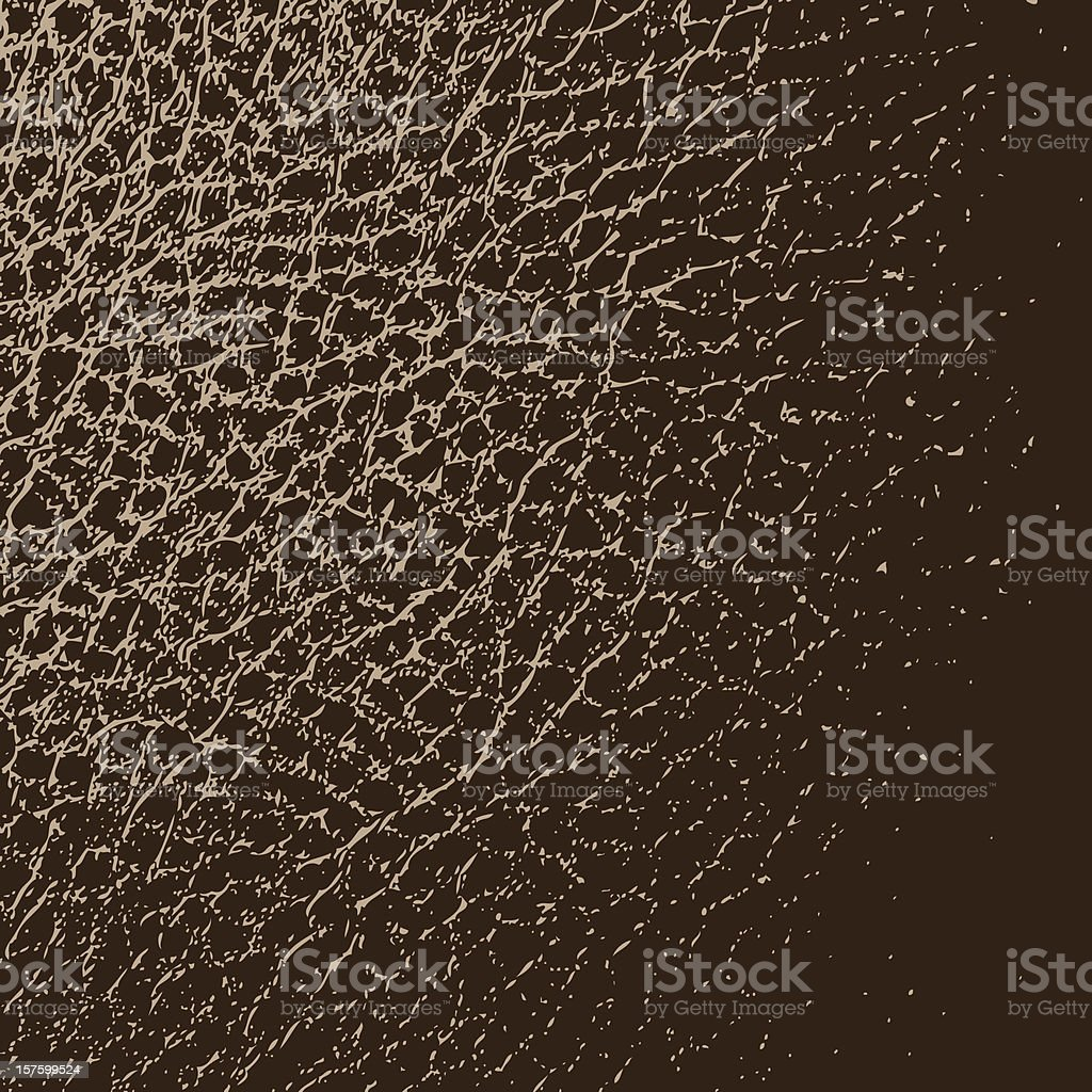 Leather Texture Background royalty-free stock vector art