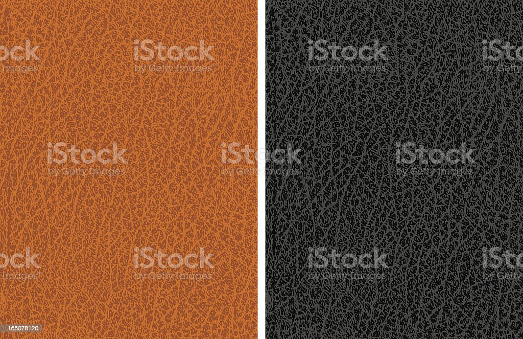 Leather texture vector art illustration