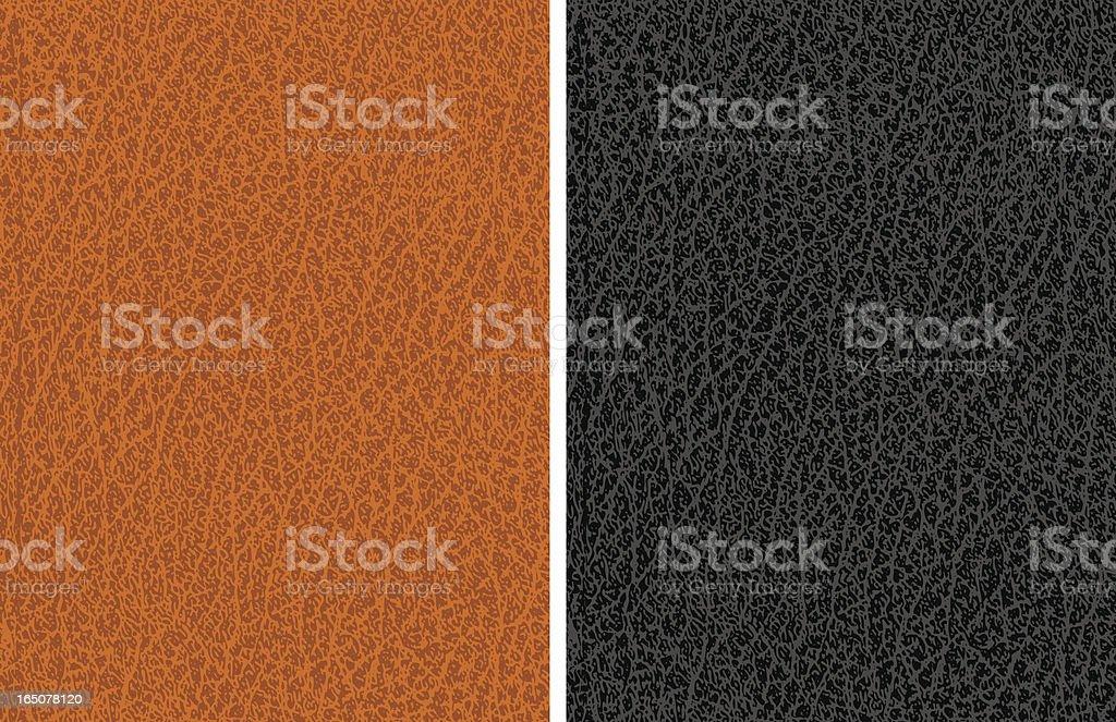 Leather texture vector art illustration