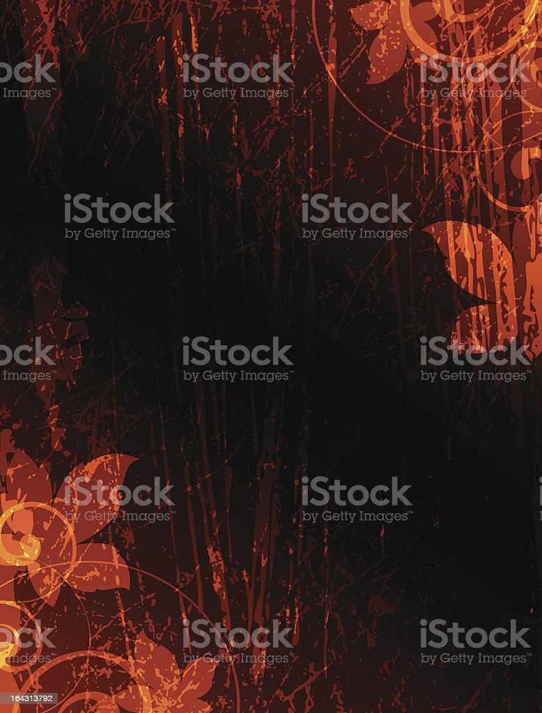 leaves of autumn royalty-free stock vector art