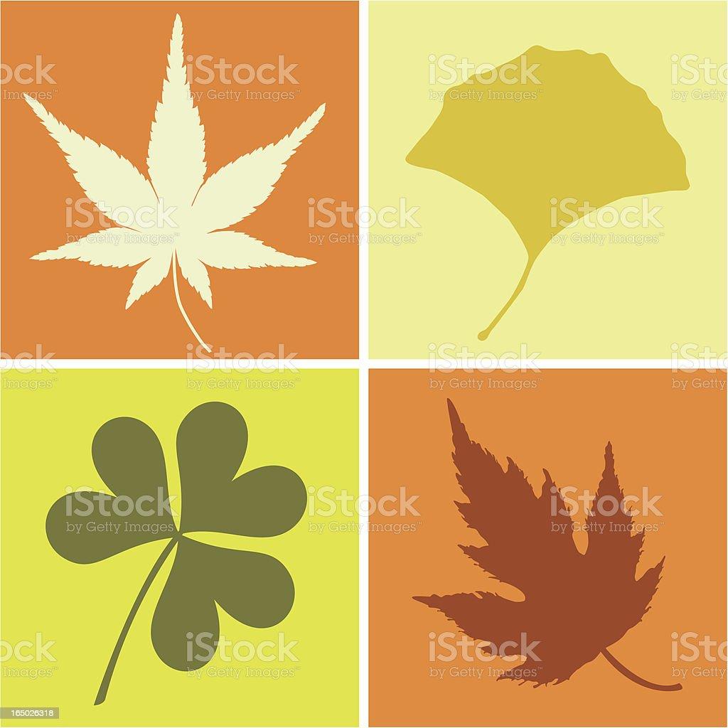 Leaves ( Vector ) royalty-free stock vector art