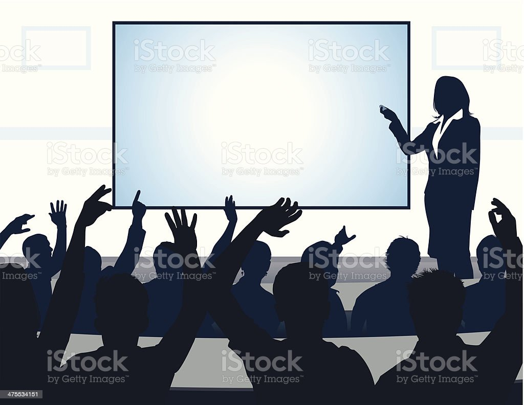 Lecture royalty-free stock vector art
