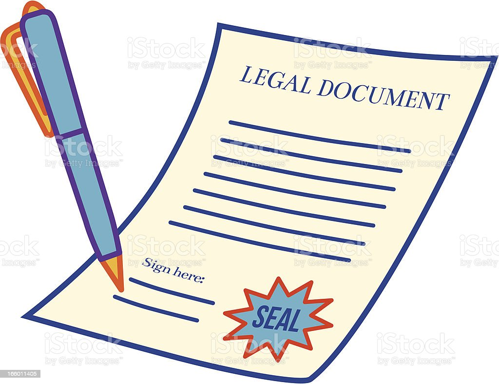 legal document stock vector art 166011405 istock With documents cartoon images