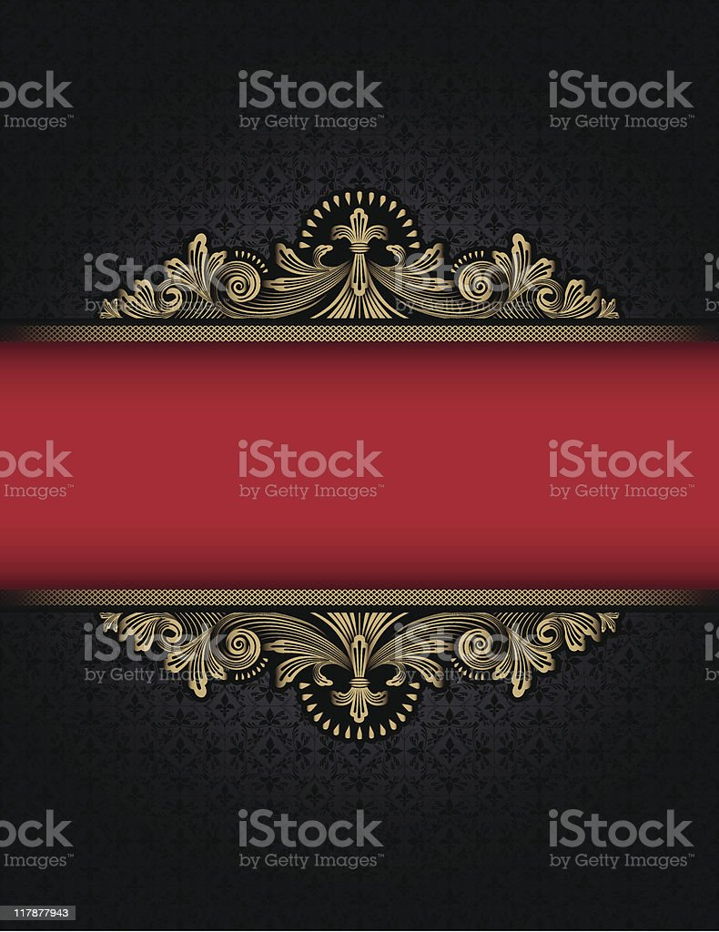 Legrand Nouveau on Black royalty-free stock vector art