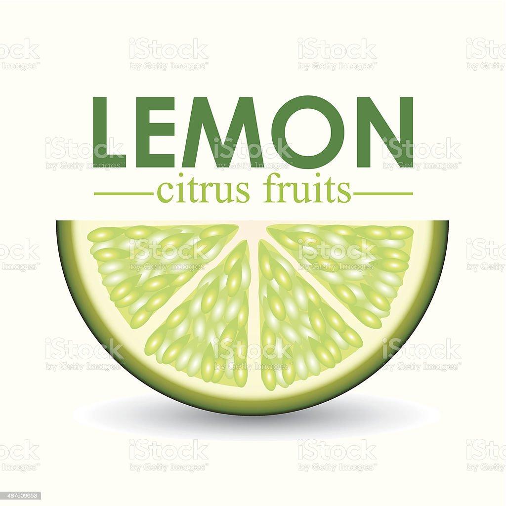 Lemon Design royalty-free stock vector art